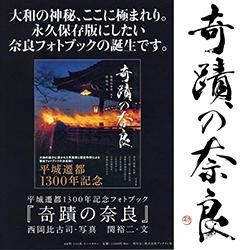 「奇蹟の奈良」
